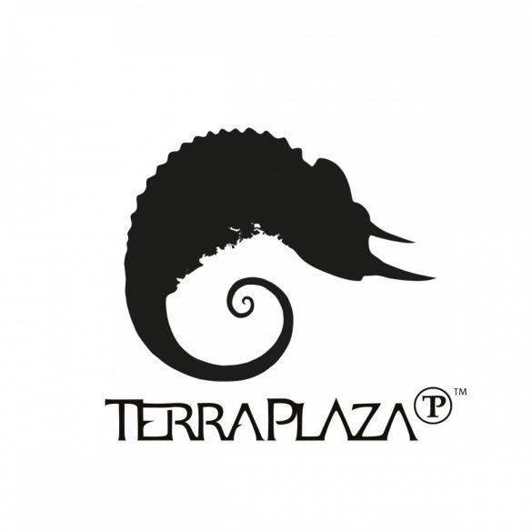Zoom Póló TerraPlaza simple logo fehér