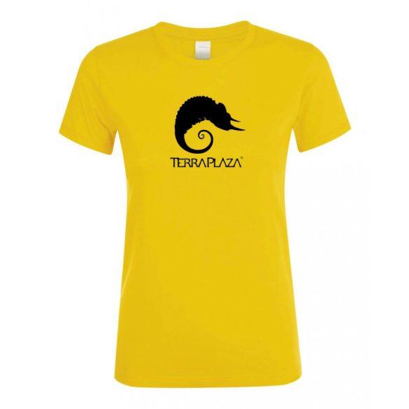 TerraPlaza simple logo gold női póló