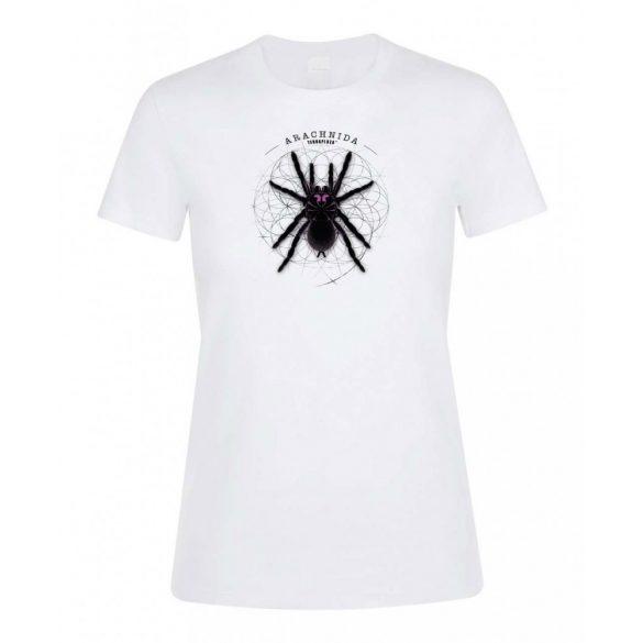 Xenesthis sp. Arachnida fehér női póló