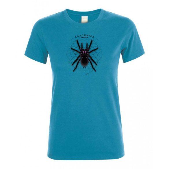 Xenesthis sp. Arachnida aqua női póló