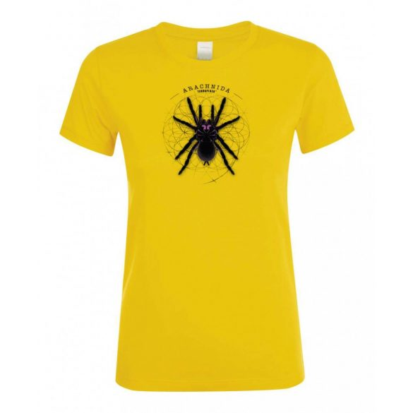 Xenesthis sp. Arachnida gold női póló