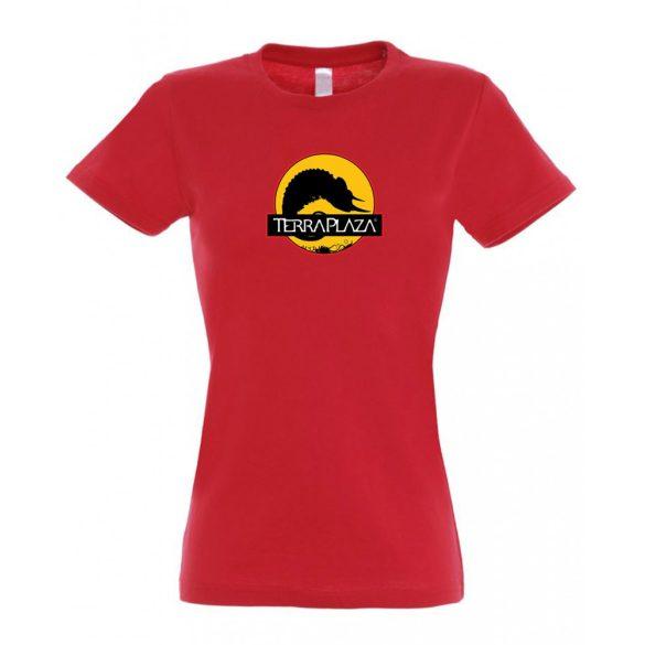 2019 október TerraPlaza logo red női póló