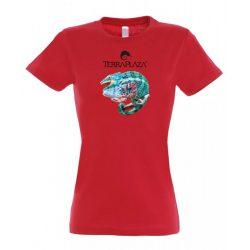Furcifer pardalis XXX5 red női póló