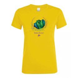 Morelia viridis XXX7 gold női póló