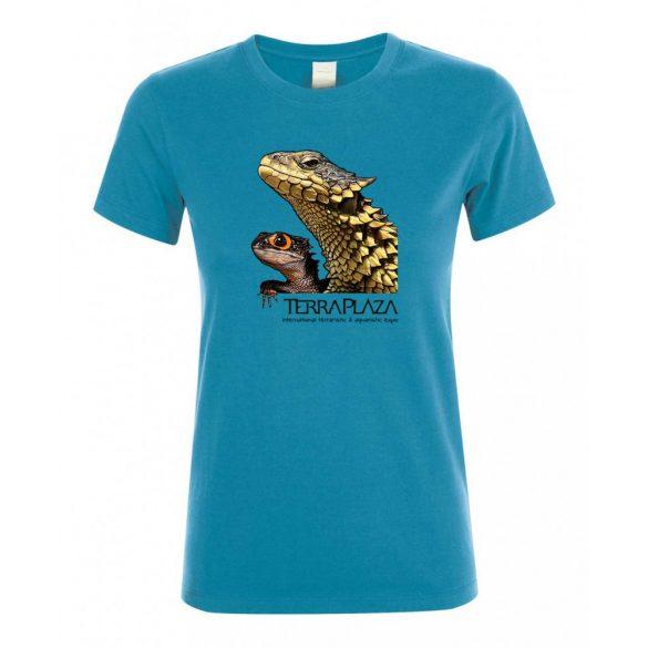 Dragons aqua női póló