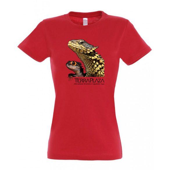 Dragons red női póló