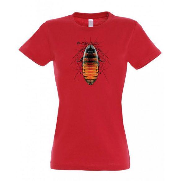 Gromphadorhina red női póló