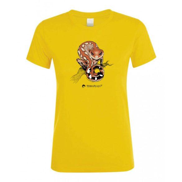 Aeluroscalabotes felinus gold női póló