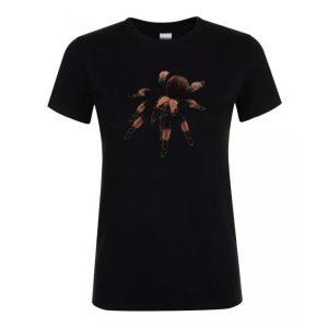 Brachypelma emilia madárpók black női póló