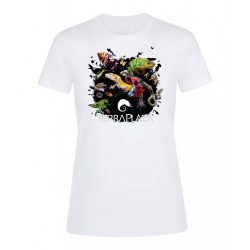 XXX3 montázs white női póló