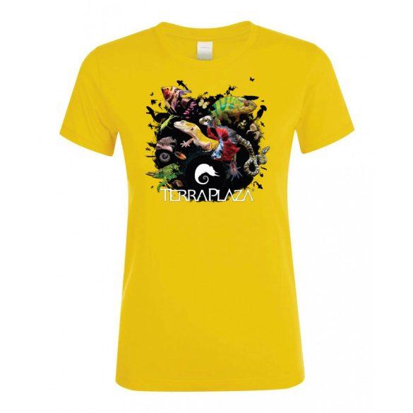 XXX3 montázs  gold női póló