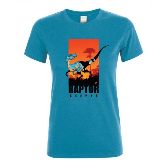Raptor keeper aqua női póló