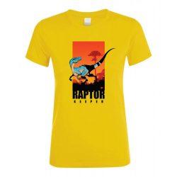 Raptor keeper gold női póló