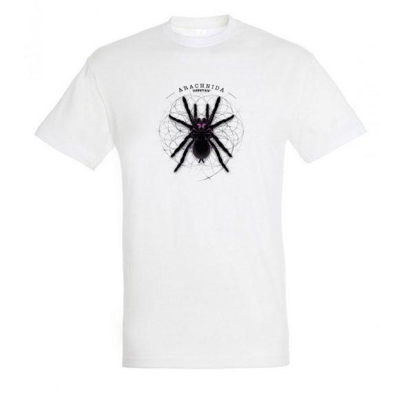 Xenesthis sp. Arachnida fehér férfi póló