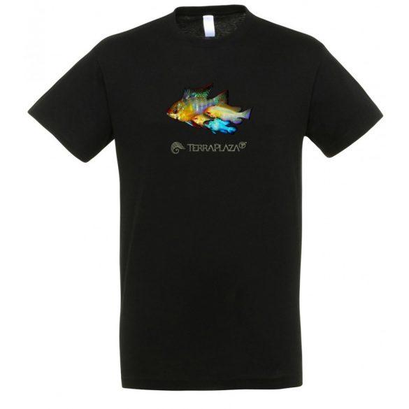 Ramirezi black férfi póló