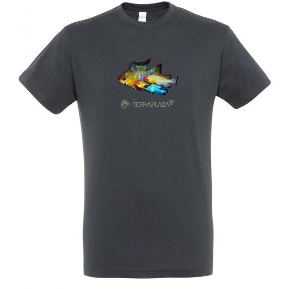 Ramirezi mouse grey férfi póló
