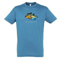 Ramirezi aqua férfi póló
