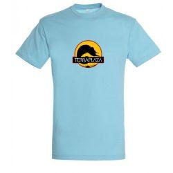 2019 október TerraPlaza logo atoll blue férfi póló