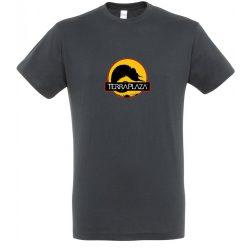2019 október TerraPlaza logo mouse grey férfi póló