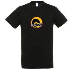2019 október TerraPlaza logo fekete férfi póló