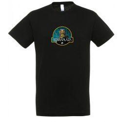 Uromastyx fekete férfi póló