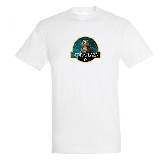 Uromastyx fehér férfi póló