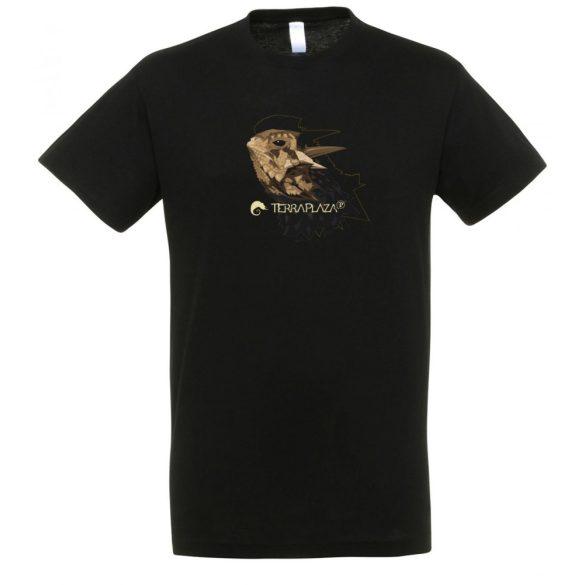 Phrynosoma fekete férfi póló