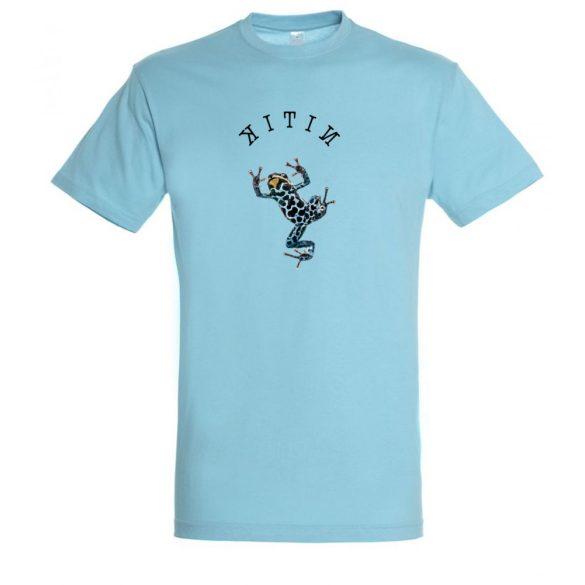 Dendrobates atoll blue férfi póló