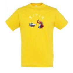Betta splendens gold férfi póló