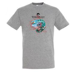 Furcifer pardalis XXX5 grey melange férfi póló