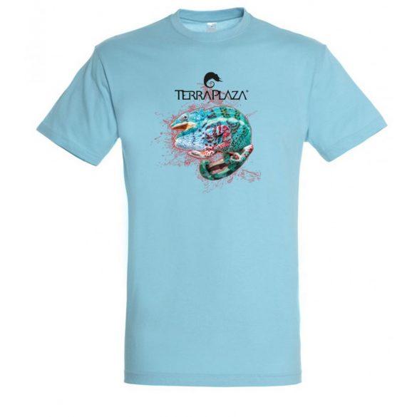Furcifer pardalis XXX5 atoll blue férfi póló
