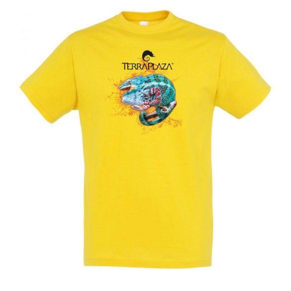 Furcifer pardalis XXX5 gold férfi póló