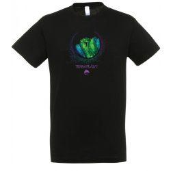 Morelia viridis XXX7 black férfi póló