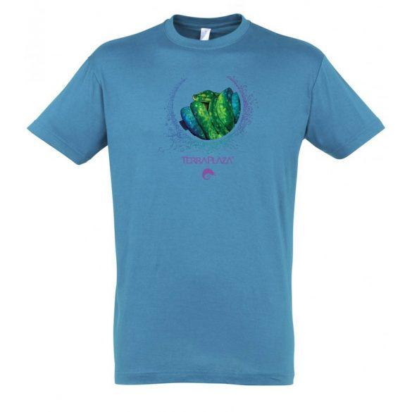 Morelia viridis XXX7 aqua férfi póló