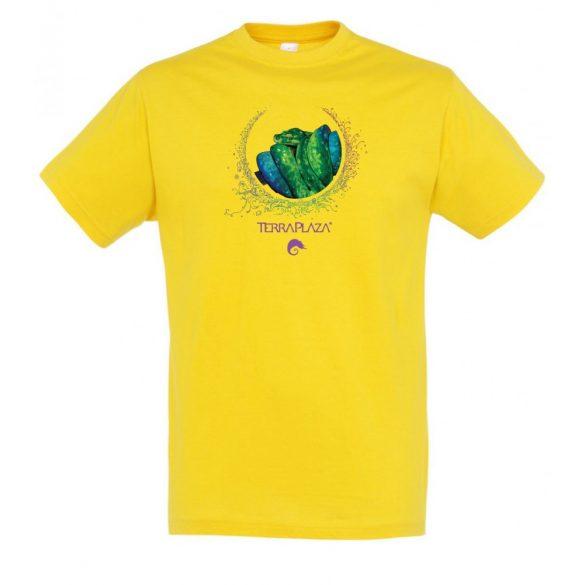 Morelia viridis XXX7 gold férfi póló