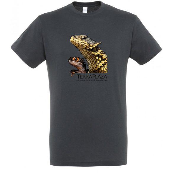 Dragons mouse grey férfi póló