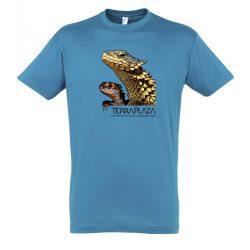 Dragons aqua férfi póló