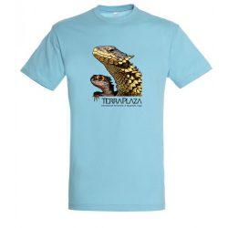 Dragons atoll blue férfi póló