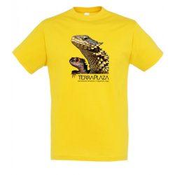 Dragons gold férfi póló