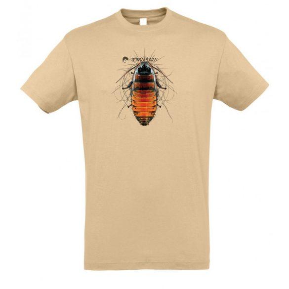 Gromphadorhina sand férfi póló