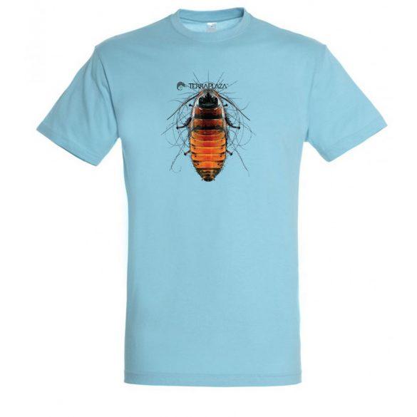 Gromphadorhina atoll blue férfi póló