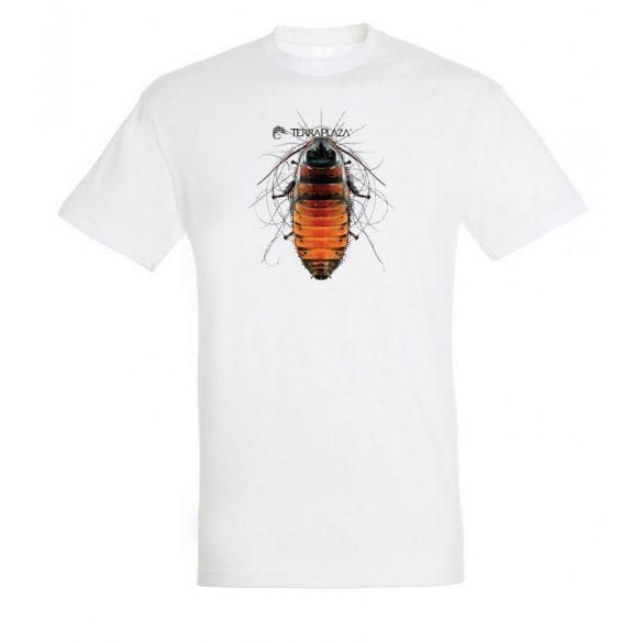 Gromphadorhina white férfi póló