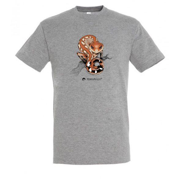 Aeluroscalabotes felinus grey melange férfi póló
