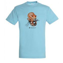 Aeluroscalabotes felinus atoll blue férfi póló