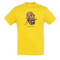 Aeluroscalabotes felinus gold férfi póló