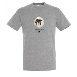 Ephebopus murinus grey melange férfi póló
