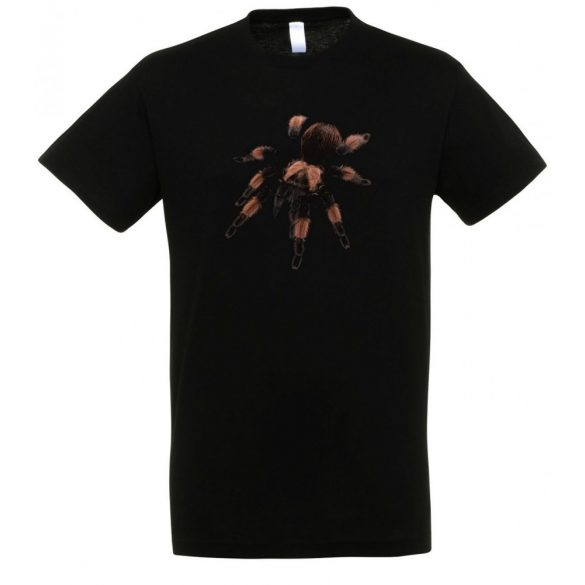 Brachypelma emilia madárpók black férfi póló