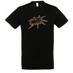 Hysterocrates gigas madárpók black férfi póló