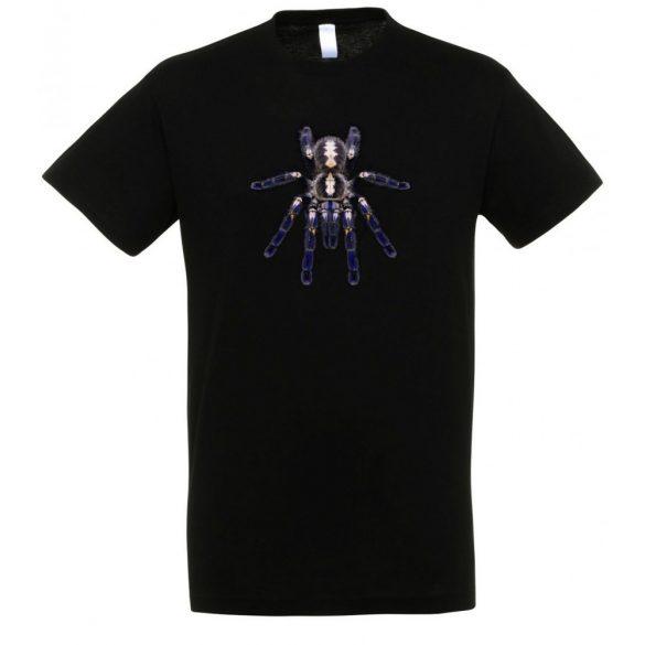 Poecilotheria metallica madárpók black férfi póló