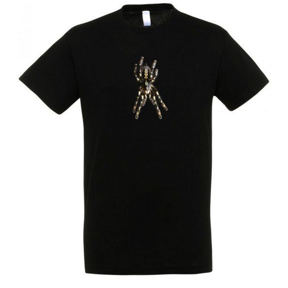 Poecilotheria subfusca madárpók black férfi póló